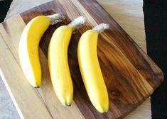 plátanos con plástico arriba