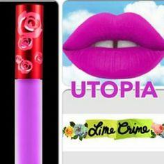 HP Best in RetailLime Crime Velvetines(Utopia) Lime Crime Velvetines (Utopia) Authentic Makeup Lipstick