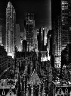 NYC. Nice night view