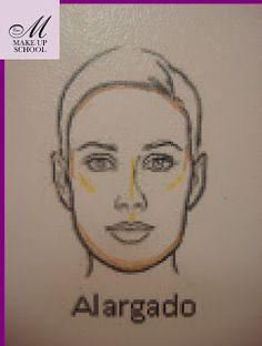 Mi cuaderno de notas: Curso de Maquillaje - 2 - Visagismo, tipos de rostro, correcciones