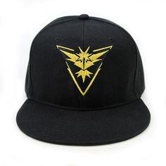 Cosplay Mobile game Pokemon Go Team Valor Team Mystic Team Instinct  snapback baseball Cap hat 906d5adac7ad