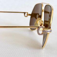 """Custom Cartier Vendôme """"Grand Pavage"""" Cartier Sunglasses, Vintage Sunglasses, Sunglasses Case, Mens Sunglasses, Jewel Case, Vintage Frames, High Jewelry, Eye Glasses, The Originals"""