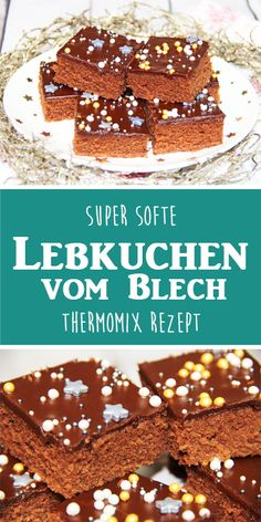 super-saftige-softe-lebkuchen-vom-blech-thermomix-rezept/ - The world's most private search engine Easy Bread Recipes, Cookie Recipes, Dessert Recipes, Spice Bread, Christmas Breakfast, Christmas Desserts, Christmas Time, Food Cakes, Bakery
