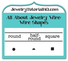 Jewelry wire wire gauge size conversion chart comparing awg all about jewelry wire wire shapes different shaped wire is used for different jewelry keyboard keysfo Images