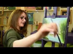 Poppy Duo Flower OIL PAINTING TUTORIAL- Paint With Maz Online PREVIEW - YouTube