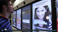 Civil Debate touchscreen interactive. Mashup of visitor interaction with social networking.