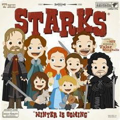 The Starks | Game of Thrones
