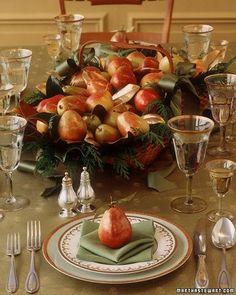 The Thanksgiving Table | Beautiful Habitat Design & Decoration