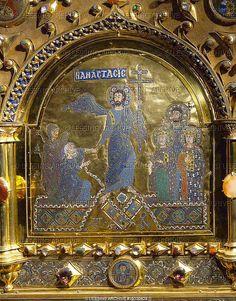 Pala d'Oro, detail 2 The Resurrection (Anastasis) by petrus.agricola, via Flickr