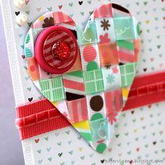 Woven Ribbon Heart
