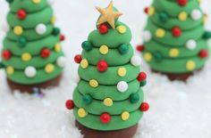 Christmas tree cake decorations - goodtoknow