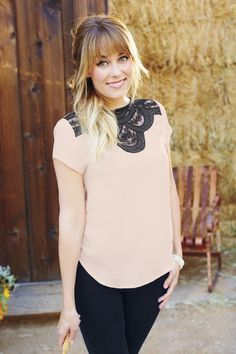 You can't go wrong with classic pink and black. #LCLaurenConrad #Kohls