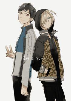 Yuri and Yurio