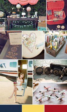 Travel Inspired Wedding - www.thesimplifiers.com