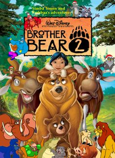Brother Bear 2 - Click Photo to Watch Full Movie Free Online.