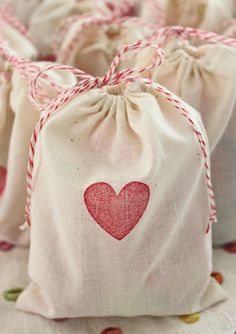 Valentine's Day treat bag how-to from JWK