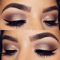 These brows and that blending. | 17 Pictures That Will Intensely Satisfy Anyone Obsessed With Makeup
