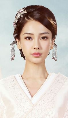 Chinese Style, Geisha, Asian Woman, Asian Beauty, Hanfu, Bindi, Beautiful Asian Girls, Most Beautiful Women, Angelababy
