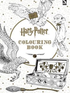 In The Harry Potter Colouring Book There Are Nearly 100 Pages Of Our Favourite Scenes And