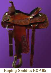 Jerry Shaw Roping Saddle: ROP-05