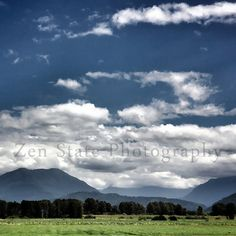 Landscape Print. Cloud Photography. Sky Photo Wall Hanging. Square Format Photo Print Framed Photography or Canvas Print. Home Decor. by ZenStatePhotography from ZenStatePhotography. Find it now at http://ift.tt/1vGSWKj!