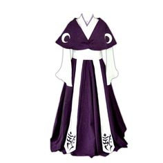 Tsubasa Chronicles Cosplay Costume - Tomoyo Kimono Small *** Details can be found by clicking on the image.