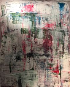 "Acrylic Painting 2016 Ralf Schneider ""Abstrakt"" 100 cm x 80 cm"