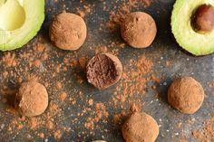 Silky Dark Chocolate Avocado Truffles
