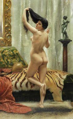 Роберт Баррет Браунинг. «Перед зеркалом». 1887 г.