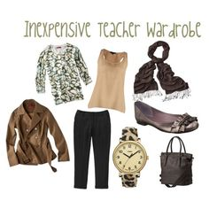 Inexpensive Teacher Wardrobe