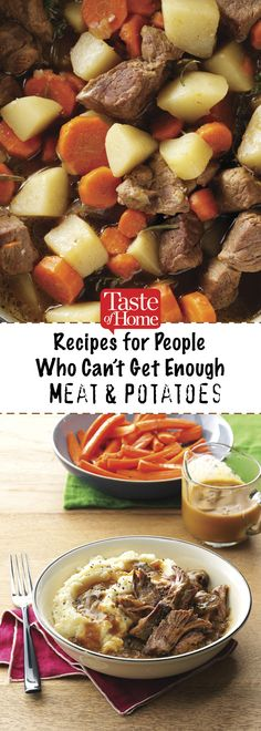 Recipes for People Who Can't Get Enough Meat & Potatoes