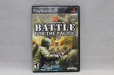History Channel: Battle for the Pacific (Sony PlayStation 2, 2007) COMPLETE