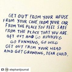 "This was a great reminder today  #Repost @elephantjournal with @repostapp ・・・ ""It takes courage to grow up and become who you really are."" ~ e.e. cummings {Image via Dallas Clayton}  #elephantjournal #mayitbeofbenefit"