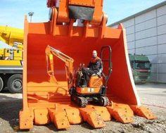 Caption This! #HeavyEquipment #Buckets #RockandDirt