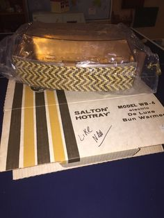 Salton Hotray WB 4 Electric de Luxe Bun Warmer in Box | eBay