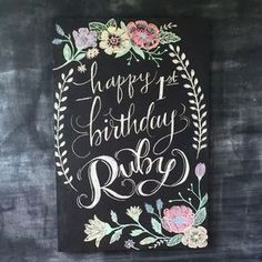 Modern Birthday Chalk Art Chalkboard Happy Birthday Chalk Art Hand Lettering For Ba First with regard to Modern Birthday Chalk Art Happy Birthday Chalkboard, Happy Birthday Signs, Happy First Birthday, Art Birthday, Birthday Cards, Birthday Design, Chalkboard Lettering, Chalkboard Designs, Chalkboard Drawings