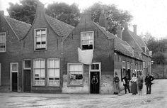 De voormalige Kalverstraat, nu een gedeelte van de Geregracht (eind 19ᵉ eeuw).