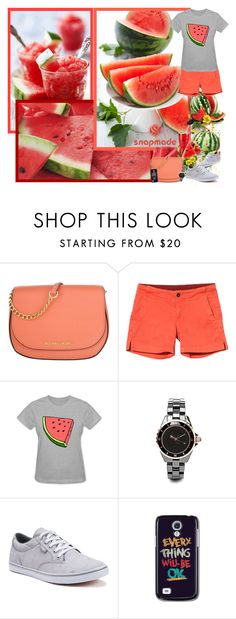 """""""Snapmade.com"""" by asia-12 ❤ liked on Polyvore featuring Disney, Michael Kors, Kavu, Vans, Samsung and snapmade"""