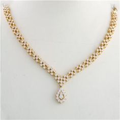 1000+ ideas about Indian Diamond Necklace on Pinterest - Gold Jewellery Design Necklace Sketches