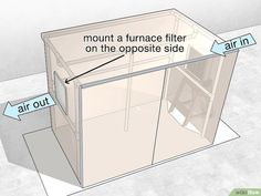How to Create a Paint Booth in Your Garage. A paint booth can help you create clean and smooth paint jobs for your projects without getting paint all over everything. To build a booth in your garage, try creating a frame out of PVC pipe,. Diy Paint Booth, Spray Paint Booth, Diy Spray Paint, Garage Workshop Plans, Garage Workshop Organization, Basement Workshop, Basement Painting, Diy Painting, Painting Walls