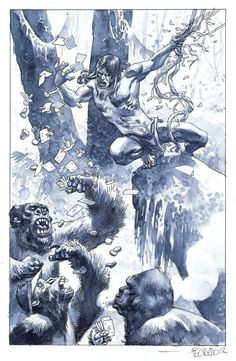 Tarzan - Duncan Fegredo