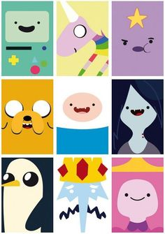 Adventure time, come on grab your friends! We'll go to very distant lands with Jake the Dog and Finn the Human. The fun will never end; it's adventure time!!