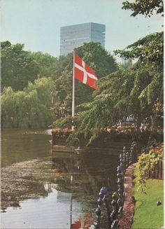 1 Used 1983 Postcard of Copenhagen, Denmark, Royal Hotel, good shape by VintageNEJunk on Etsy