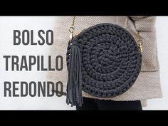 Bolso de trapillo redondo - MissDIY Más