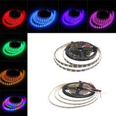 4M 240LEDS WS2812B Non-Waterroof 5050 RGB  LED Strip Light Individual Addressable DC 5V