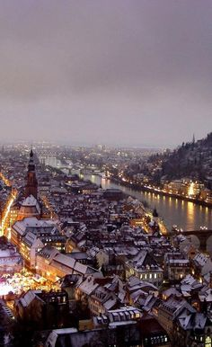 Heidelberg winter, Germany