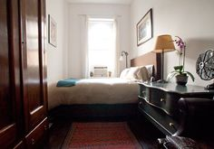 Wonderfully small bedrooms