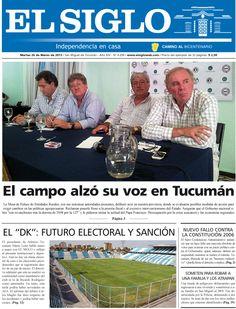 Diario El Siglo - Martes 26 de Marzo de 20 13
