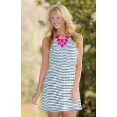 Leave A Little Early Dress-Ivory - $42.00