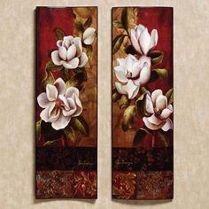 Magnolia wall art